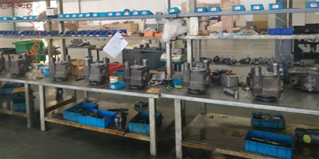 变量柱塞泵装配流水线