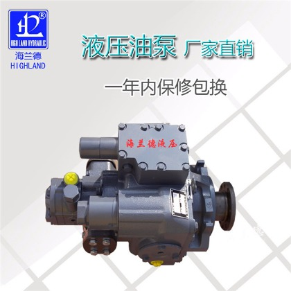 High performance hydraulic ram pump