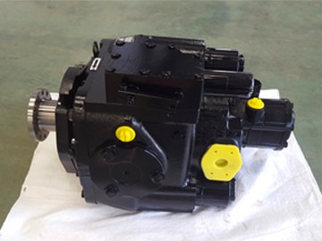 Hydraulic pump for concrete pump