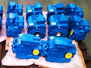 harvester hydraulic pump