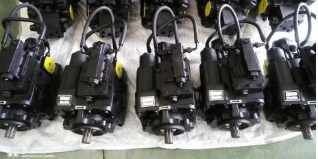 scraper hydraulic pump