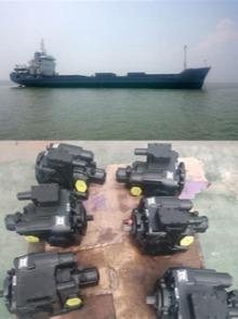 Marine boat hydraulic pump