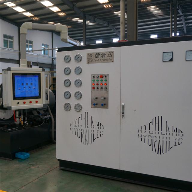 济南海兰德功率回收液压泵试验台