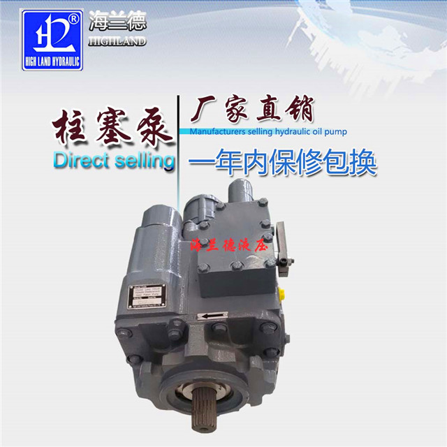 【浙江】质量可靠的高压柱塞泵生产厂家在海兰德液压