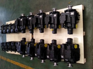 High pressure piston pump and motor factory