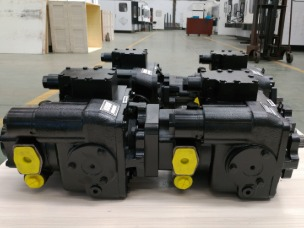 Tandem piston pumps factory