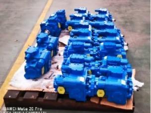Hydraulic pump harvester factory