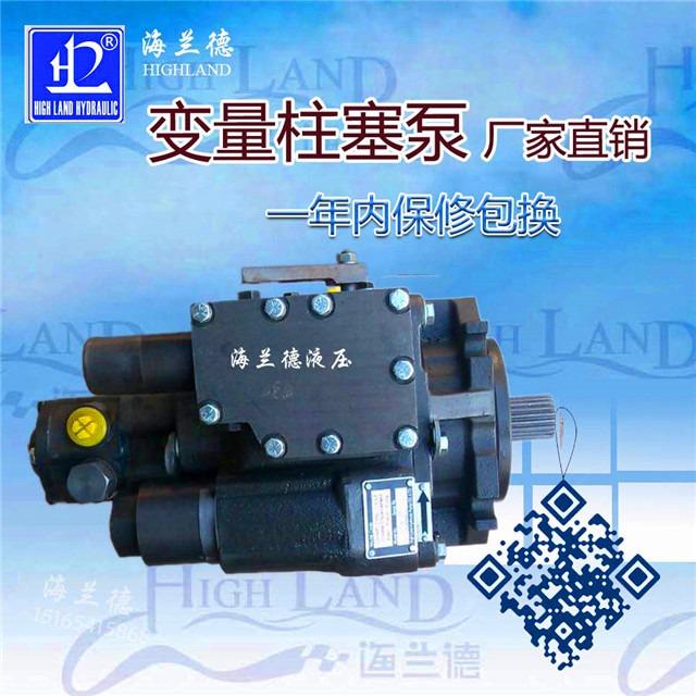 变量柱塞泵工厂定制|海兰德液压