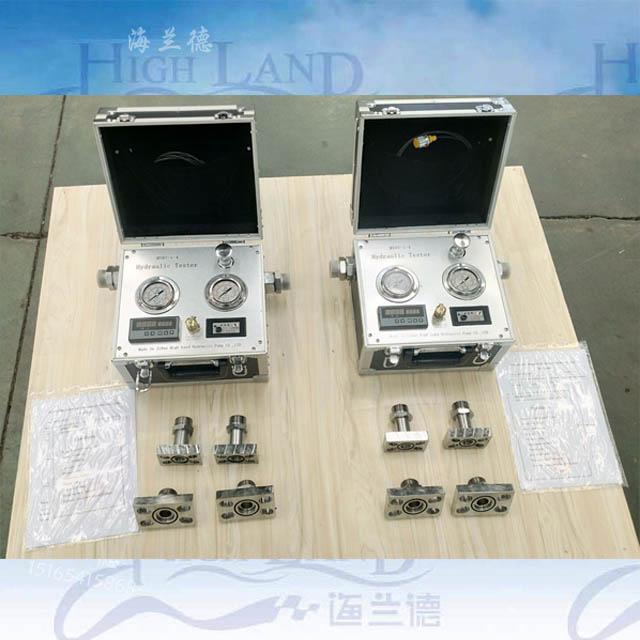 关于便携式液压测试仪的应用