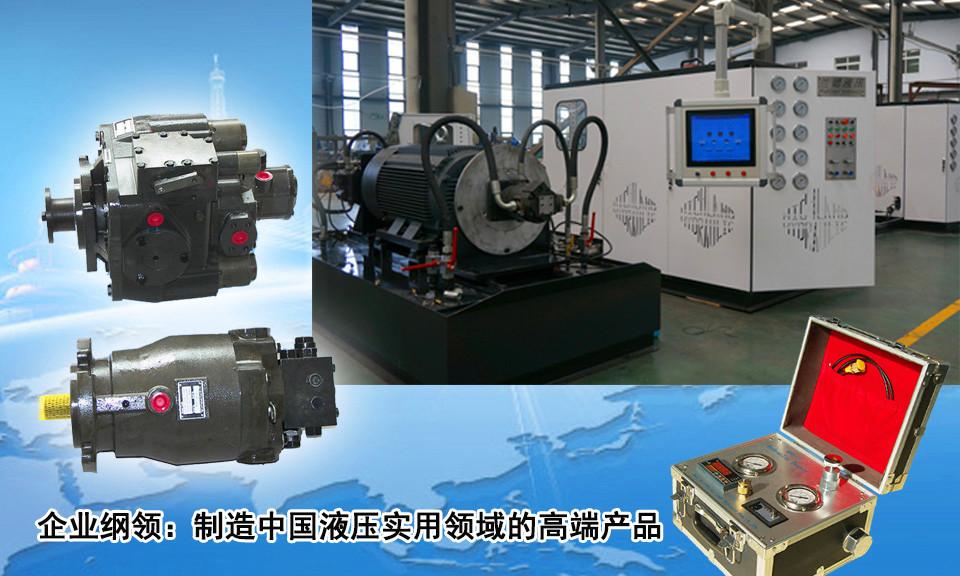 中国高端液压泵及元件制造商
